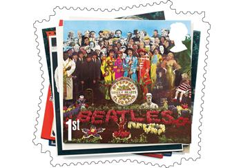 Beatles Sgt Pepper Stamp