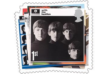 With the Beatles Stamp