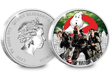 The Official Ghostbusters Silver 1oz Coin