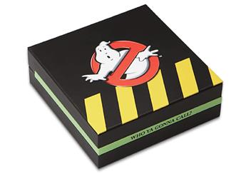 The Official Ghostbusters Silver 1oz Coin Box Closed