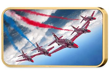 Red Arrows 2017 Enid Formation Ingot