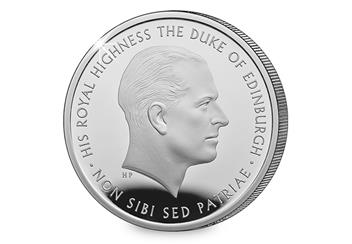 Prince Philip Silver Proof £5 Reverse