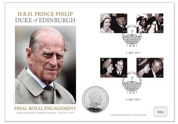 Prince Philip Service Coin Cover