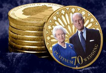 Celebrate The Platinum Wedding Anniversary With The New 24ct Gold Plat