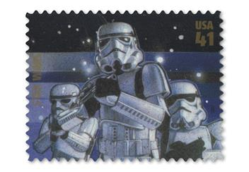 Star Wars Stamp Sheet Stormtroopers