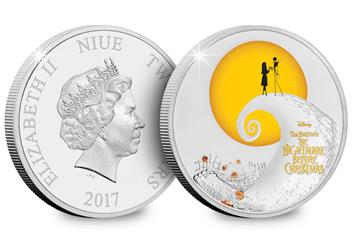 Nightmare Before Christmas Coin Both Sides