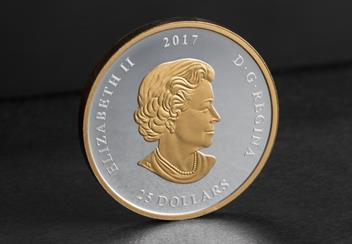Seal of Canada Mirrored Obverse