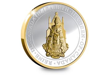Seal of Canada Coin Reverse