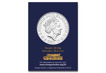 The UK Remembrance Certified BU Coin Obverse