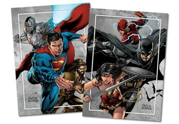 Justice League Lenticular Coin Collector Cards