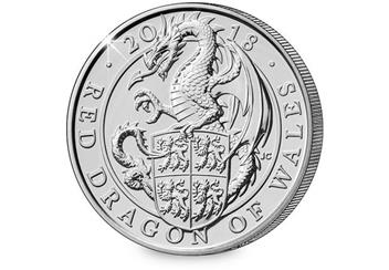 Change-Checker-UK-2018-Queens-Beasts-Dragon-of-Wales-BU-Five-Pound-Coin-Reverse
