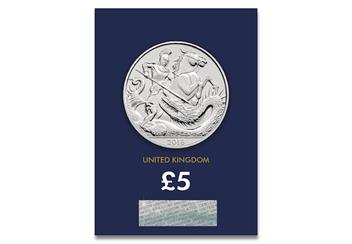 UK-2018-Prince-George-Birthday-5-Pound-Coin-CC-Pack-Front