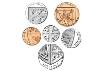 2018 United Kingdom Annual Royal Mint Coin Set Shield
