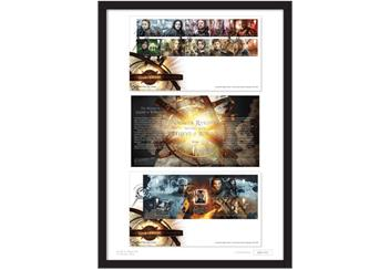 The Ultimate Limited Edition Game of Thrones A3 Framed Presentation