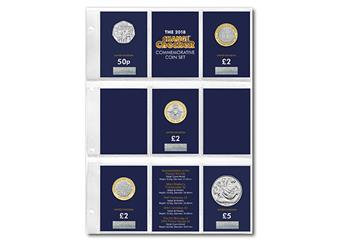 2018 Certified BU Commemorative Coins Change Checker Folder all