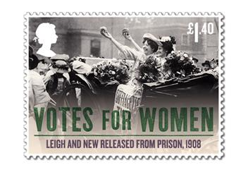 Votes For Women Cover Stamp 4