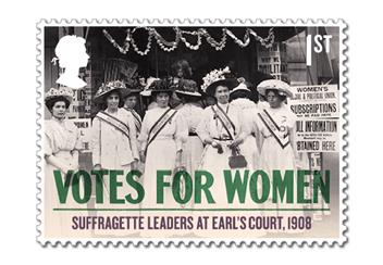 Votes For Women Cover Stamp 5