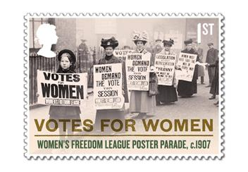 Votes For Women Cover Stamp 6
