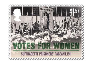 Votes For Women Cover Stamp 7