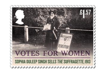 Votes For Women Cover Stamp 8