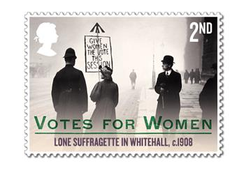 Votes For Women Cover Stamp 1