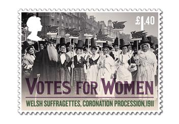 Votes For Women Cover Stamp 2