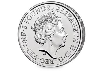 The Four Generations Of Royalty 2018 UK 5 Pound Obverse 1