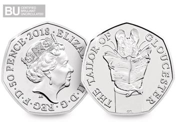 2018-Beatrix-Potter-50p-Coins-Brilliant-Uncirculated-Tailor-of-Gloucester-Obverse-Reverse-Logo