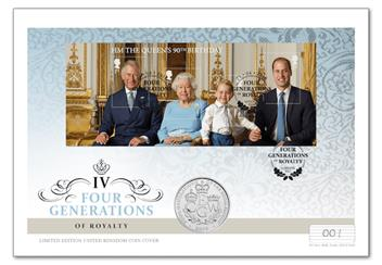 Four Generations Of Royalty Cover