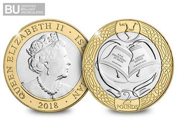 Change-Checker-Harry-and-Meghan-Royal-Wedding-2018-IOM-BU-Two-Pound-Coin-Obverse-Reverse