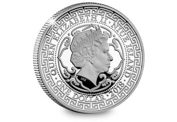 EIC 2018 Trade Dollar Silver Proof Coin Obverse Product