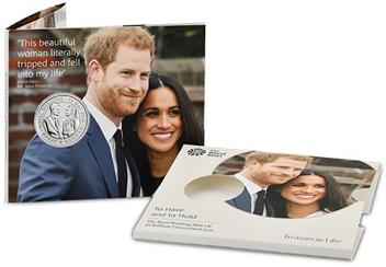2018 Royal Wedding Bu Five Pound Royal Mint Packaging4