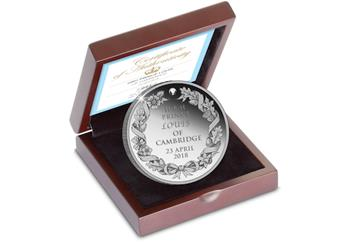 Royal Baby 2018 Silver Commemorative Box (1)