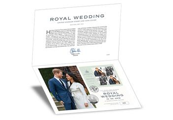 Royal Wedding Hm Uk Coin And Stamp Cover Web Images Folder 002