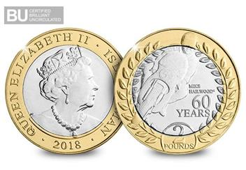 2018 Isle of Man TT Race £2 Coin duo
