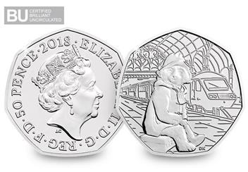 Change-Checker-UK-2018-Paddington-Bear-Station-CuNi-BU-50p-Coin-Obverse-Reverse