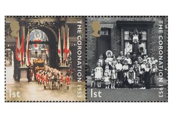 Coronation Uk Coin And Stamp Cover Stamp 4