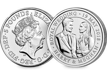 Change Checker 5 Pound Coin Image Amends Royal Wedding 5 Pound Coin No Logo 1