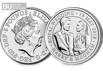 Change Checker 5 Pound Coin Image Amends Royal Wedding 5 Pound Coin 1