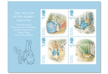 Dy Beatrix Potter Ultimate Cover Product Page Images Minisheet