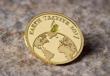 2017 Earth Tektite Gold Proof Coin Lifestyle