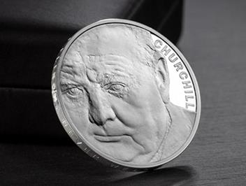 Uk 2015 Churchill Silver Proof Five Pound Coin Lifestyle 4