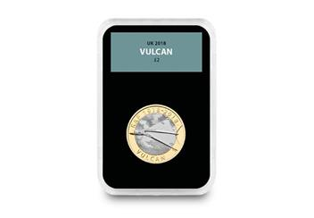 Raf Centenary Ultimate Box Set Commemorative Stamp And Coin Set Vulcan