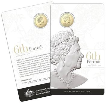 2019 $1 UNC 6th Effigy_CARD PACKAGING