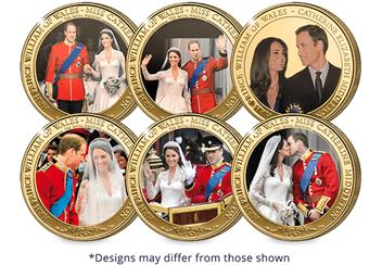 William And Kate 12 Coin Set Group