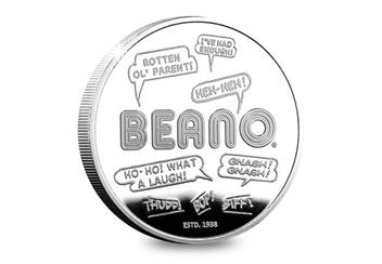 Dn Beano 80Th Silver Plated Medal Collection Dennis Product Images 3