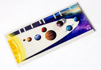 Planets Of The Solar System Planets Earth Silver Banknote Back2