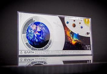 Planets Of The Solar System Planets Earth Silver Banknote Lifestyle1