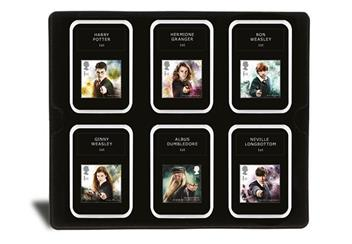 2018 Harry Potter Stamp Collection Boxed Edition Characters