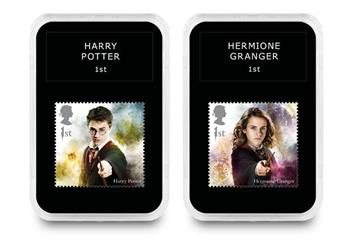 2018 Harry Potter Stamp Collection Boxed Edition Harry And Hermione